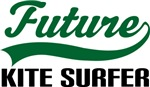 Future Kite Surfer Kids T Shirts
