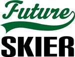 Future Skier Kids T Shirts