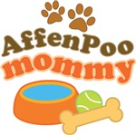 Affenpoo Mommy Pet Mom Gifts and T-shirts