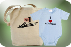Memaw and Meemaw Gifts and T-Shirts