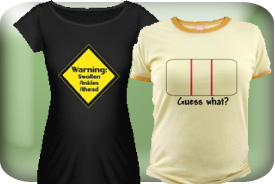 Sassy and Funny Maternity T-Shirts