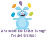 Easter Bunny? I've got Grampa!