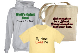 Nonni Gifts and T-Shirts