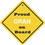 Proud Gran on Board