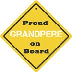 Proud Grandpere on Board