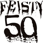50th Birthday Gifts, Feisty 50!