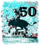 50th Birthday Gifts, Rodeo Cowboy!