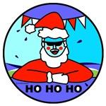 Santa Swims!