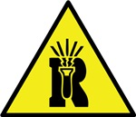 Dangerously Reactive Material Warning Sign