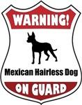 Warning! Mexican Hairless Dog