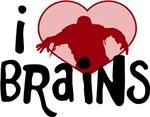 I Zombie Brains