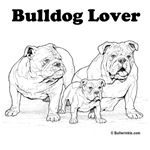 Bulldog Lover Black