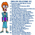 English Solicisms 101