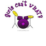 Purple Drum Set