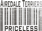 Airedale Terrier Priceless T-shirts and gifts