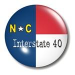 Interstate 40 North Carolina T-shirts & Gifts