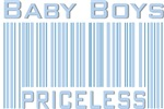 Baby Boys Priceless New Mom Boy T-shirts & Gifts