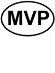 MVP Most Valuable Player Oval T-shirts & Gifts