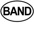 BAND European oval Marching T-shirts & Gifts