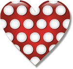 I Love (heart) Minnie Dots T-shirts & Gifts