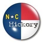 Hickory North Carolina Flag T-shirts & Gifts
