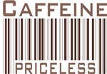 Caffeine Priceless Barcode T-shirts & Gifts