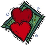 Two Hearts T-shirts & Gifts