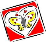 Valentine Butterfly T-shirts & Gifts