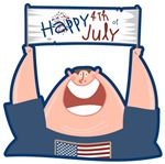 Happy 4th of July USA T-shirts & Gifts