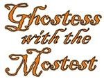 Ghostess Mostest Halloween Party T-shirts Gifts