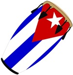 Conga Cuba Flag music t-shirts gifts
