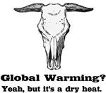 Global Warming Dry Heat fun t-shirts gifts