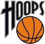 Hoops basketball t-shirts gifts