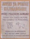 Poachers Beware t-shirts gifts