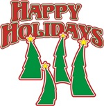 Happy Holidays t-shirts gifts