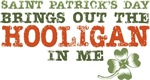 St Patrick's Day Hooligan T-shirts Gifts