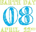 Earth Day April 22nd 2008 T-shirts Gifts