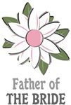 Father of the Bride Boutonniere T-shirts Gifts
