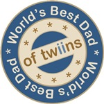 World's Best Dad of Twin Boys T-shirts Gifts