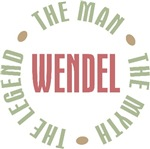 Wendel the Man the Myth the Legend T-shirts Gifts