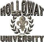 Holloway Family Name University T-shirts Gifts