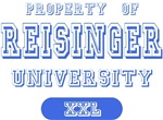 Property Of Reisinger University T-shirts Gifts