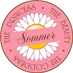 Sommer Princess Beauty Goddess T-shirts Gifts