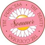Sommer Princess Beauty Goddess T-shirts Gifts