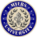 Myers Last Name University T-shirts Gifts