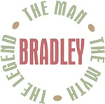 Bradley the Man the Myth the Legend T-shirts Gifts
