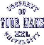 Your Last Name XXL University T-shirts Gifts