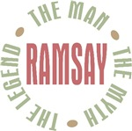 Ramsay the Man the Myth the Legend T-shirts Gifts
