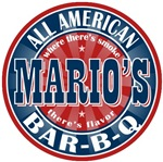 Mario's All American Bar-b-q T-shirts Gifts