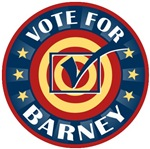 Vote for Barney Personalized T-shirts Gifts